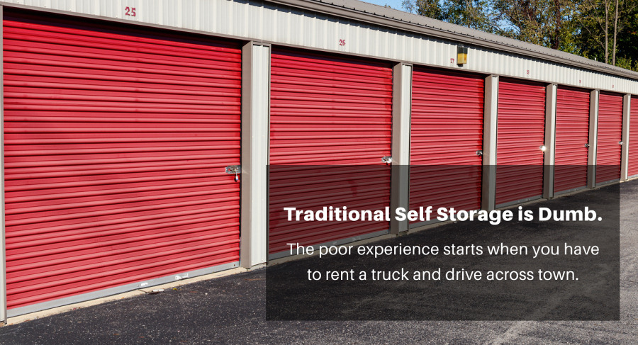 traditional self storage is dumb